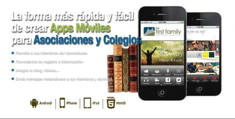 Creapp. Crea tu app para Android y iPhone - Inicio | Mobile Learning | Scoop.it