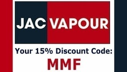 Jacvapour Discount Codes that save 15% in 2014 | Jacvapour ... | Jacvapour Discount Codes | Scoop.it
