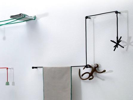 Salle de bain design: porte serviette original ! | Blog Déco Maison | Bricolage pour mes enfants | Scoop.it