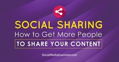Social Sharing: How to Get More People to Share Your Content | | SEO Tips, Advice, Help | Scoop.it