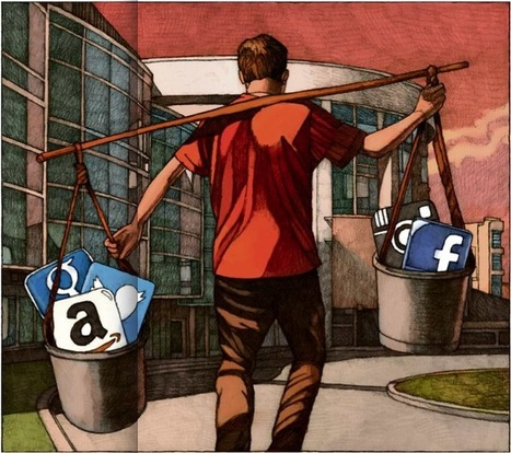 Antonio Casilli : «Poster sur Facebook, c'esttravailler. Comment nous rémunérer ?» | Bib & numérique | Scoop.it
