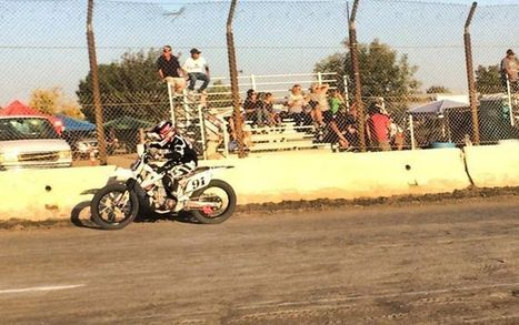 Mikey Martin at practice. | California Flat Track Association (CFTA) | Scoop.it