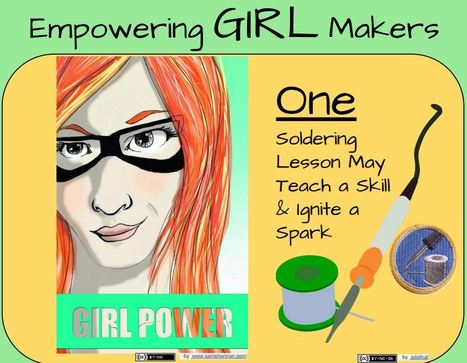New Things I've Tried: Empowering Girl Makers: Infographic - Jill Dawson | iPads in Education | Scoop.it