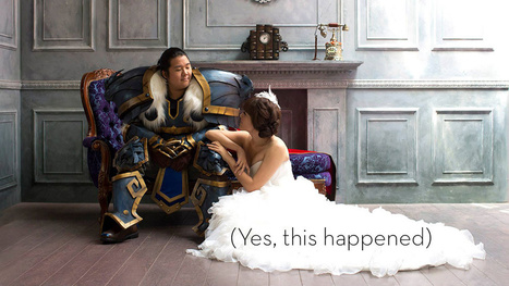 Ain't No Wedding Like An Incredible World Of Warcraft Wedding | A Virtual Worlds Miscellany | Scoop.it