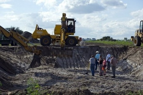 Excavation begins at Old Vero Man archaeological site in Vero Beach | Photo ... - TCPalm | Introduction to archaeology | Scoop.it