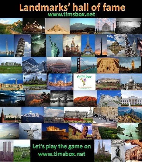 TIMSBOX_landmarks' hall of fame- fun and free esl game | JEUX ANGLAIS GRATUIT COLLEGE 4ème 3ème | Scoop.it