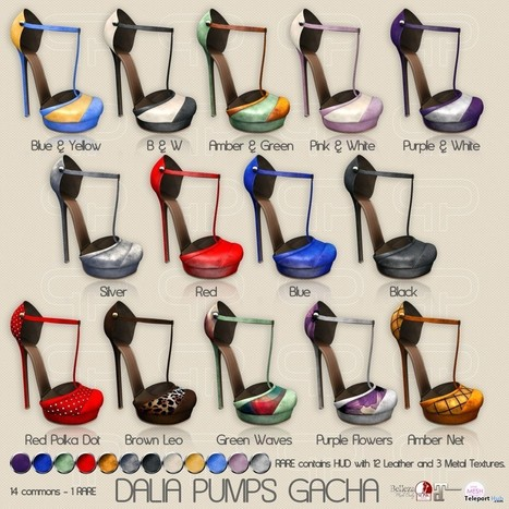 Dalia Pump Gacha Group Gift by Pure Poison | Teleport Hub - Second Life Freebies | Second Life Freebies | Scoop.it