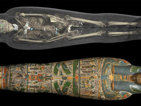 X-rays reveal the intricate layers of Egyptian mummies - CNET | Ancient Egypt and Nubia | Scoop.it