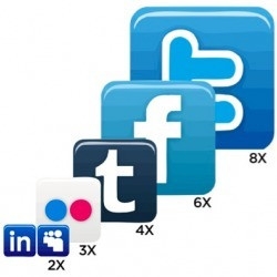 De Top 20 Social Networks [INFOGRAPHIC] | CJG en Social Media | Scoop.it