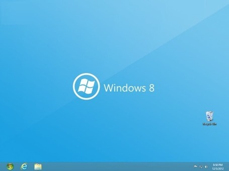 Add a self-made Start button to the Windows 8 desktop | TechRepublic | EEDSP | Scoop.it