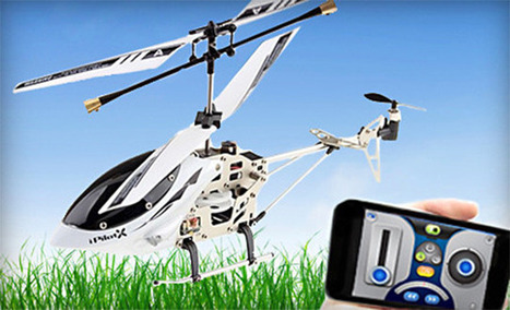 Today's Groupon Deals Features A Great Sale On An App-Controlled Helicopter | GOSSIP, NEWS & SPORT! | Scoop.it