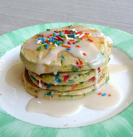 Cake Batter Pancakes | Cakes & Bakes | Scoop.it