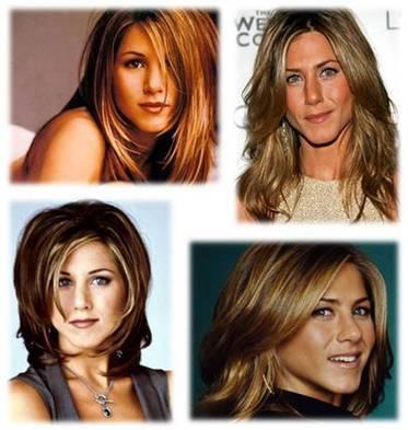 Jennifer Aniston Blonde Hair Dark Brown Highlights | Beauty | Scoop.it