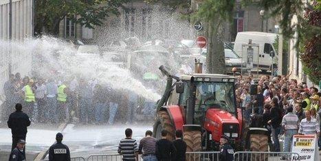 Les producteurs de lait passent à l'action ce mercredi matin à l'entrée de Périgueux | Agriculture en Dordogne | Scoop.it