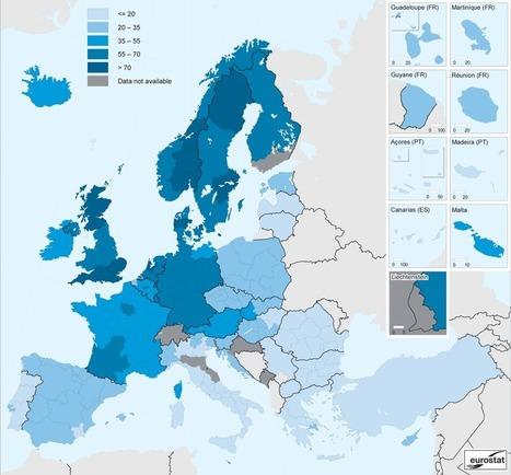 L'e-commerce en Europe varie selon les régions et la connexion Internet | Communication digitale et PMEs : la revanche du contenu. | Scoop.it