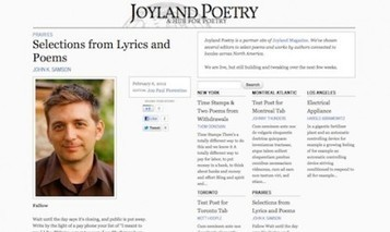 Joyland launches poetry hub | Acquiring | Scoop.it