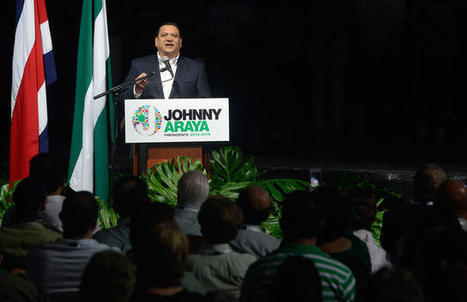 Liberation candidate Johnny Araya travels to Mexico for advice on politics / News Briefs / More news / Costa Rica Newspaper, The Tico Times | North America, South America, and Asia | Scoop.it