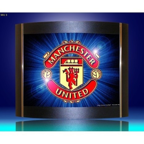 Wall lamps,sconces Manchester United logo as lamp shades. | Lighting bargains | Scoop.it