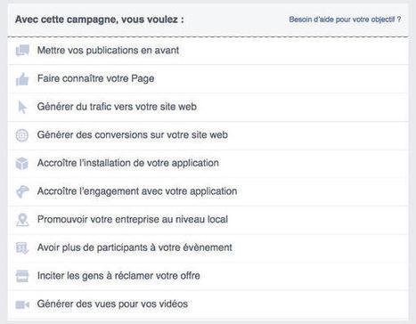 Page Facebook pour mon entreprise | Campagnes web | Scoop.it