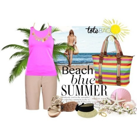 In the Bag: Beach Totes | Everything Golf | Scoop.it