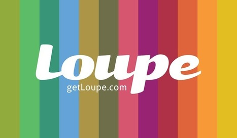 Loupe - create shapes with your photographs | technologies | Scoop.it