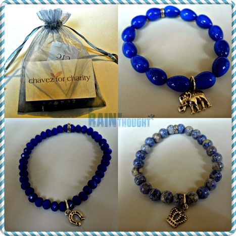 #HolidayGiftGuide: Chavez For Charity Colorful Bead Bracelets ~ a rain of thought | A Rain of Thought- Music & Entertainment | Scoop.it