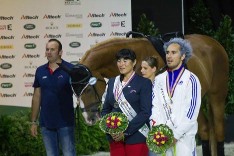 Jeux équestres mondiaux : l'argent pour Nicolas Andréani - Pays Briard   JEM 2014 Normandie   Scoop.it