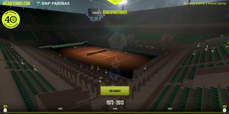 ANNIVERSAIRE. BNP PARIBAS fête 40 ans de fidélité à Roland-Garros, et célèbre la passion du tennis en proposant au grand public des expériences exceptionnelles | evenementiel et digital, par EVENEMENT+ | Scoop.it