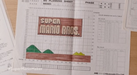 Nintendo used to design Super Mario levels on graph paper | Game development | Scoop.it
