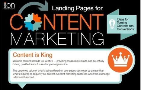 Marketing de contenu, 9 idées pour créer une «landing page» parfaite  !   del.demoisy   Scoop.it