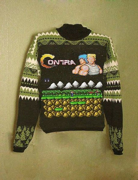 Le pull Contra | retrogaming | Scoop.it