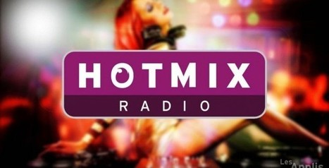 Application Hotmixradio : Ecouter la musique en streaming sur iPhone | Applications Mobile | Scoop.it