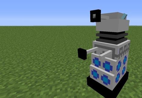Dalek Mod for Minecraft 1.6.2/1.5.2/1.5.1 | 9Minecraft | Minecraft Downloads | Minecraft | Scoop.it