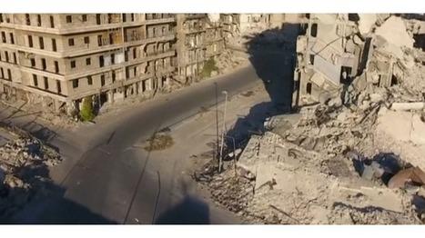 Syrie : un drone survole Alep, en ruine | Drone | Scoop.it