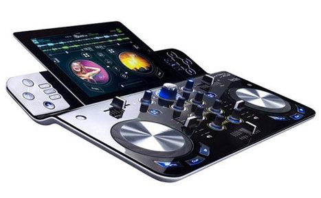 Hercules DJControlWave Controller Transforms iPads into DJ Rigs | swiggidyswagwhatsinthebag | Scoop.it