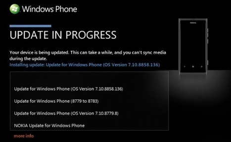 Windows Phone 7.8 arrive pour les Lumia 800 | smartphonez | Scoop.it