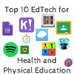 Top 10 Health and Physical Education Tech Tools by @CoachKass | Learning*Education*Technology | Scoop.it