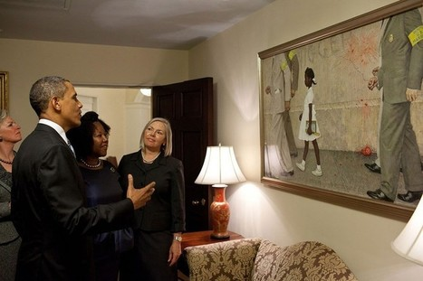 How did Obamas Change the White House with Contemporary Art ? | UF Art Education Sites | Scoop.it