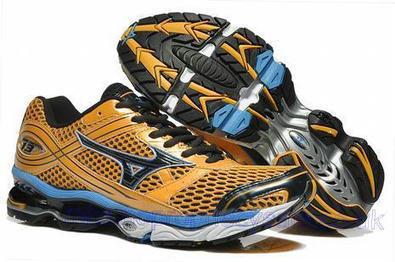 Mizuno Wave Creation 13 Mens Running Shoes Yellow Blue.jpg (465x309 pixels)   fashionshoes   Scoop.it