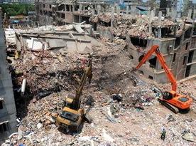 [BANGLADESCH] L'immeuble effondré conçu pour des bureaux, pas des usines   EcoParc, work in the city   Scoop.it