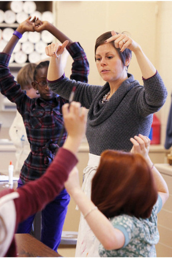 Teachers integrate arts, PE in lessons - Columbus Dispatch | Social Art Practices | Scoop.it