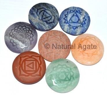 Gemstones Chakra Flat Pencil Pendant wholesalers | Natural Agate | Scoop.it