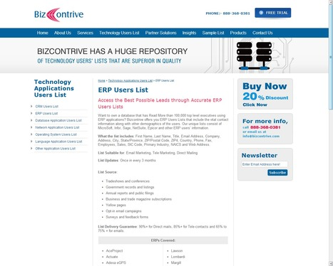 ERP User List | Bizcontrive | Scoop.it
