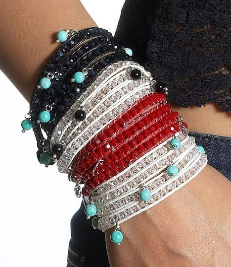 Calinana Cotton Wrap Bracelet | Arm Candy - Hottest Jewelry Trends 2013 | Scoop.it