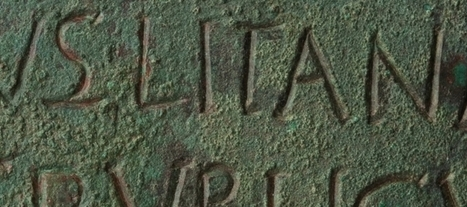 Hallado cerca del Moncayo un bronce con una inscripción única en su género - Arqueología, Historia Antigua y Medieval - Terrae Antiqvae | Arqueología, Historia Antigua y Medieval - Archeology, Ancient and Medieval History byTerrae Antiqvae (Grupos) | Scoop.it