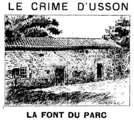 La Pissarderie: Le crime d'Usson (Vienne) - 1893 | GenealoNet | Scoop.it