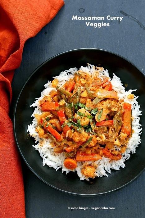 Massaman Curry Vegetables. Gluten-free Vegan Soy-free Recipe | Vegan Richa | My Vegan recipes | Scoop.it