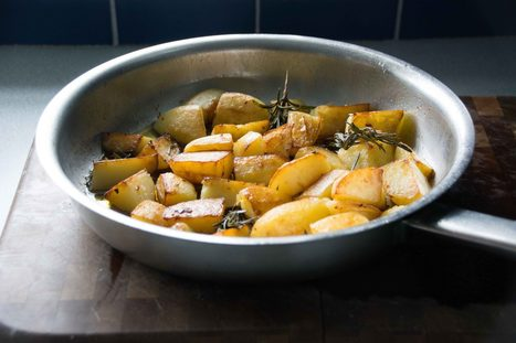 Patate con rosmarino - Potatoes with rosemary | Le Marche and Food | Scoop.it