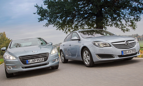 Opel Insignia vs. Peugeot 508 | Chefauto | Scoop.it