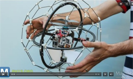 Collisions Can't Stop Crazy Flying Robot-Insect | 21st Century Innovative Technologies and Developments as also discoveries, curiosity ( insolite)... | Scoop.it